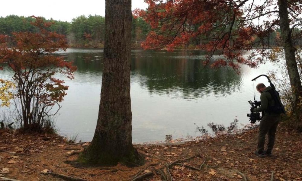 Andover, pond